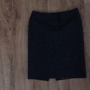Express black pencil skirt size 4
